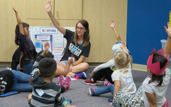 Kidsters Children in Classroom