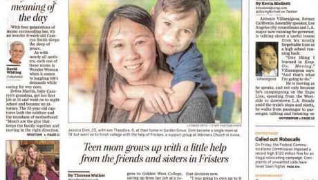 Fristers in the News: OC Register - Lessons in Kindness